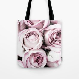 A Cascade of Perfectly Pink Roses Tote Bag