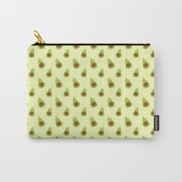 Cute Yellow Avocado Pattern Food Gift Carry-All Pouch
