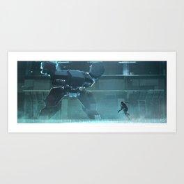 Rex's Lair Art Print