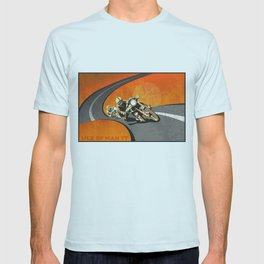 vintage Isle of Man TT motor race poster T-shirt