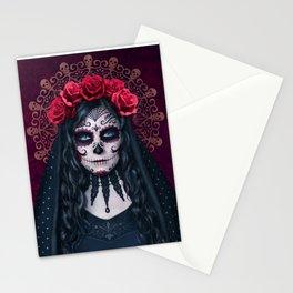 Santa Muerte Stationery Cards
