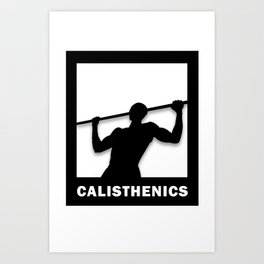 Calisthenics Art Print