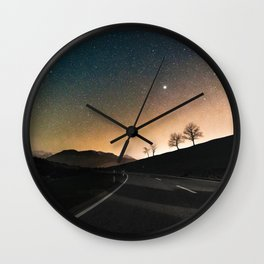 a.m. Adventure Wall Clock