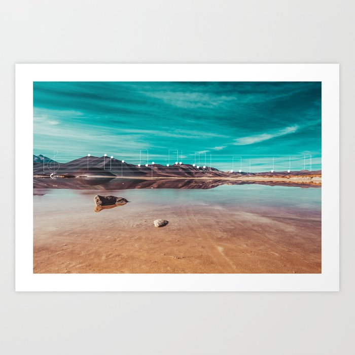 Mountain Melodies - 07 Art Print