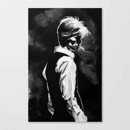 Ink For David Canvas Print