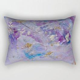 Silver Cloud Rectangular Pillow
