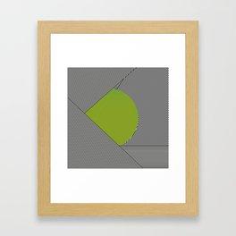 dot & stripes Framed Art Print
