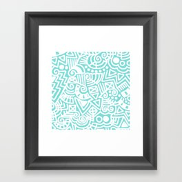 Tiffany Doodle Framed Art Print