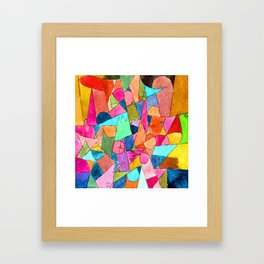 Paul Klee Untitled Framed Art Print