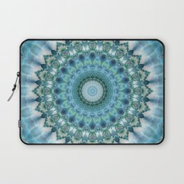 Mandala Ice Magic Laptop Sleeve