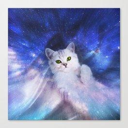 Galaxy Kitty Canvas Print