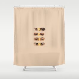 S K A M Shower Curtain