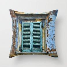 Vintage Windows Throw Pillow