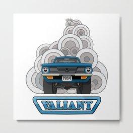 Valiant - Pop Art Metal Print