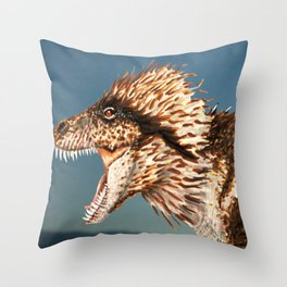 Tyrannosaurus Rex Finished Reconstruction Throw Pillow