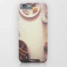 Continental Breakfast Slim Case iPhone 6s