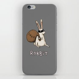 Robbit iPhone Skin