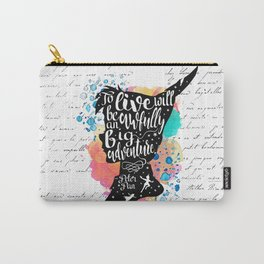 Peter Pan - To Live Carry-All Pouch
