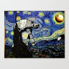 Starry Night versus the Empire Canvas Print
