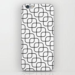 kaskada (white) iPhone Skin