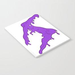 Austin Stevens Slime Logo Purple Notebook