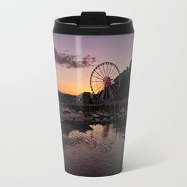 Torquay Harbour Sunset Travel Mug