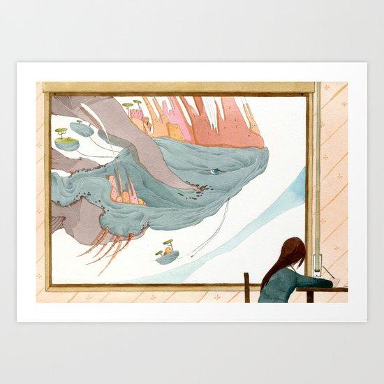 il mondo nuovo-the new world Art Print
