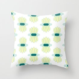 Gem Jam Throw Pillow
