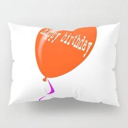 Birthday Balloon Pillow Sham