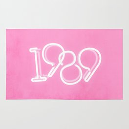 1989 Neon Sign Rug