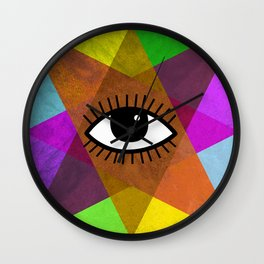 The all-seeing eye Wall Clock