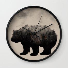 WHEN NATURE TALKS Wall Clock