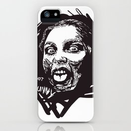 Not Funny iPhone Case