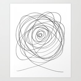 Squiggle Art Print