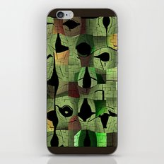 The puzzle iPhone & iPod Skin