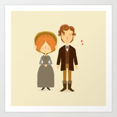 Jane Eyre Art Print