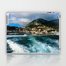 Leaving Behind the Coast of Amalfi  Laptop & iPad Skin