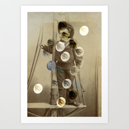 On the Watchtower Art Print