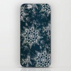 Zendala snowflake denim iPhone & iPod Skin