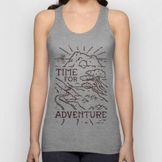 Time For Adventure Unisex Tank Top