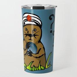 The Mystical Groundhog Travel Mug