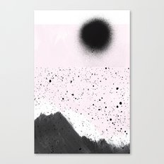 Dark sun Canvas Print