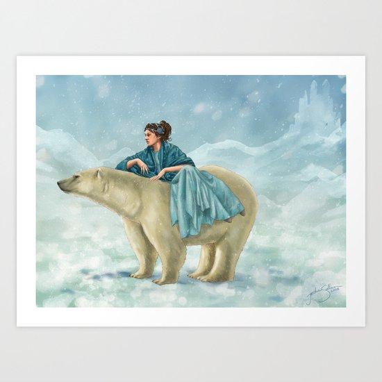 Arctic Queen Art Print