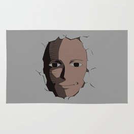 Saitama Face Rug