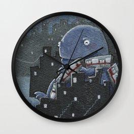 I Heart Public Transportation Wall Clock