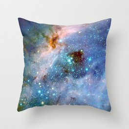 Nebula Throw Pillow