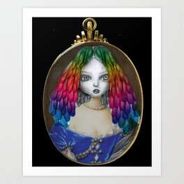 Queen of Imagination Art Print