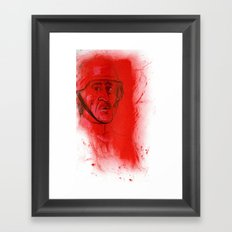 German Soldier from WW2 Framed Art Print
