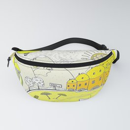 Lemon paradise Fanny Pack