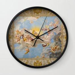 Apotheosis of Emperor Charles VI (Göttweig Abbey Fresco) Wall Clock